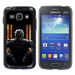 Samsung Galaxy Ace 3 III / GT-S7270 / GT-S7275 / GT-S7272 , Radio-Star - Cáscara Funda Case Caso De Plástico (Future Soldier Gaming Pc)