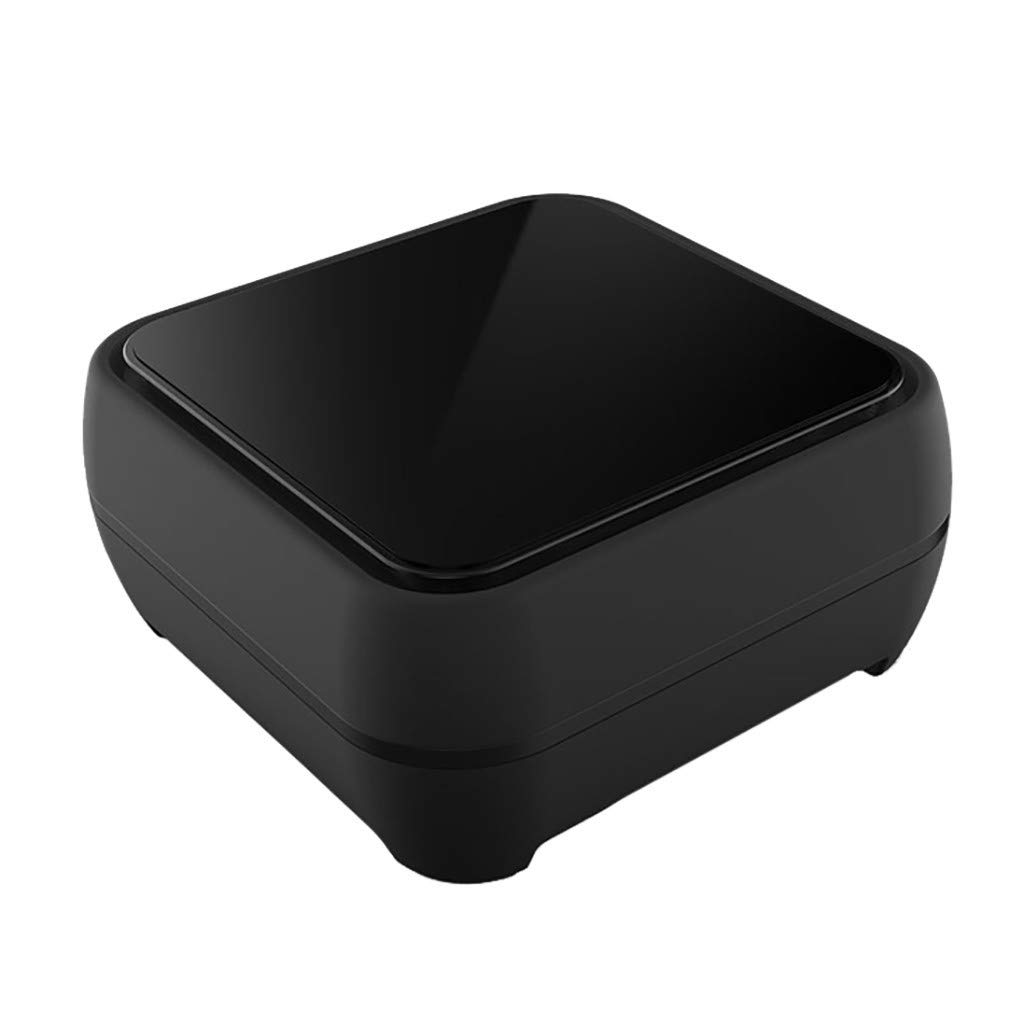 CZYCO Two in One Portable Mini Retro Bluetooth Speaker and QI Wireless Charger Suitable For Indoor Clear Sound Quality(Black) by CZYCO