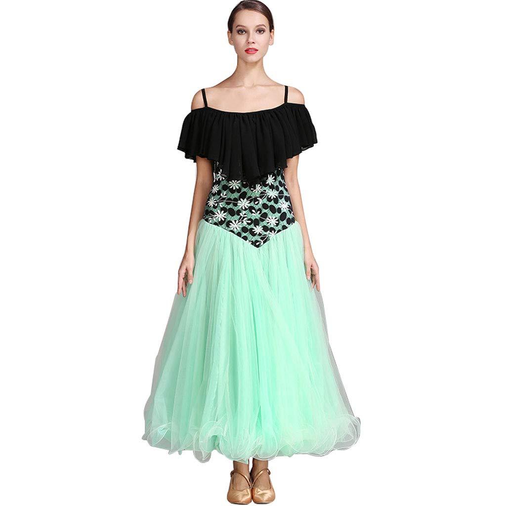 d442d4419046 YEERONG Modern Dance Skirt Big Swing Dress