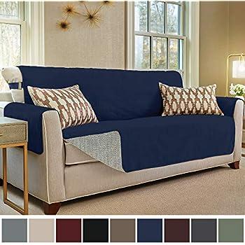 Amazon Com Surefit Vintage Leather Sofa Slipcover