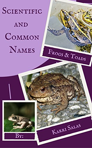 Frogs and Toads: Scientific and Common Names