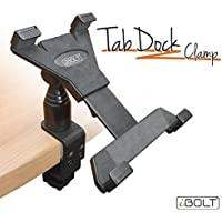 iBOLT TabDock Clamp- Heavy Duty C-Clamp mount for all 7 - 10 tablets ( iPad , Nexus, Samsung Tab ) For Desks, Tables, Wheelchairs, Carts, etc : Great For Homes, Schools, and Offices