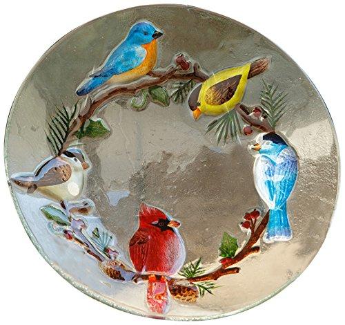 Large Birdbath (Your Hearts Delight 18 by 4-Inch Winter Bird Bath Bowl, Large)