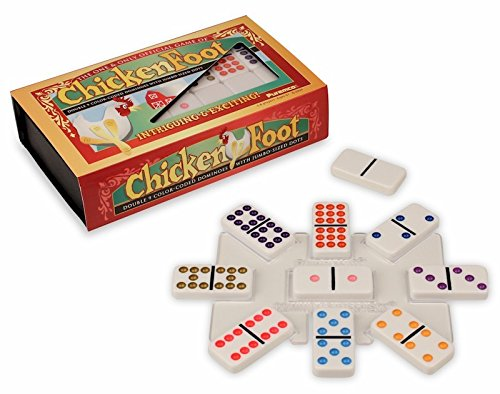 Chicken Foot Professional Double 9 Domino Game by Puremco Dominoes