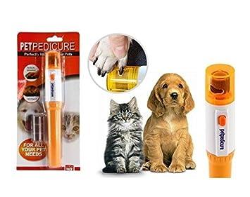 Lima rígida doble para uñas eléctrica Pet Pedicureinalámbrico-Fresa de limar las