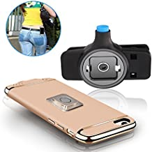 Newest Fashion phone Belt Clip [Easy On/Off & Magnetic Mount], Universal holder for iphone X,8,8 Plus,7,7 plus, 6, 6s Plus, 5s, 5c, se and Samsung Galaxy S8 S7 S6 Edge, LG or Any Phone