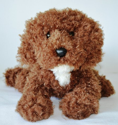 Chocolate Labradoodle Stuffed Therapy Caregivers product image