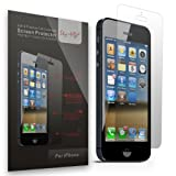 Sty-HD iPhone 5 5s 5c Premium Screen Protectors 3 Pack - Full Retail Packaging (HD Clear)
