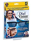 Best Adjustable Glasses - Dial Vision Unisex Glasses by BulbHead, Adjustable Lenses Review