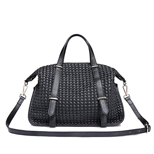 HB900322C3 Genuine Leather European And American Style Women's Handbag,Dumplings Type - Korean Brand Logo Horse With Bag