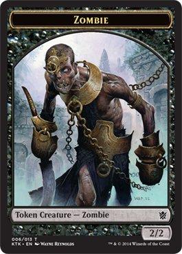 - Magic: the Gathering - Zombie (006/013) - Khans of Tarkir