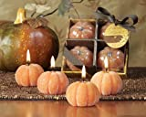 Deco Glow Beaded Pumpkin Candles 4 piece gift set