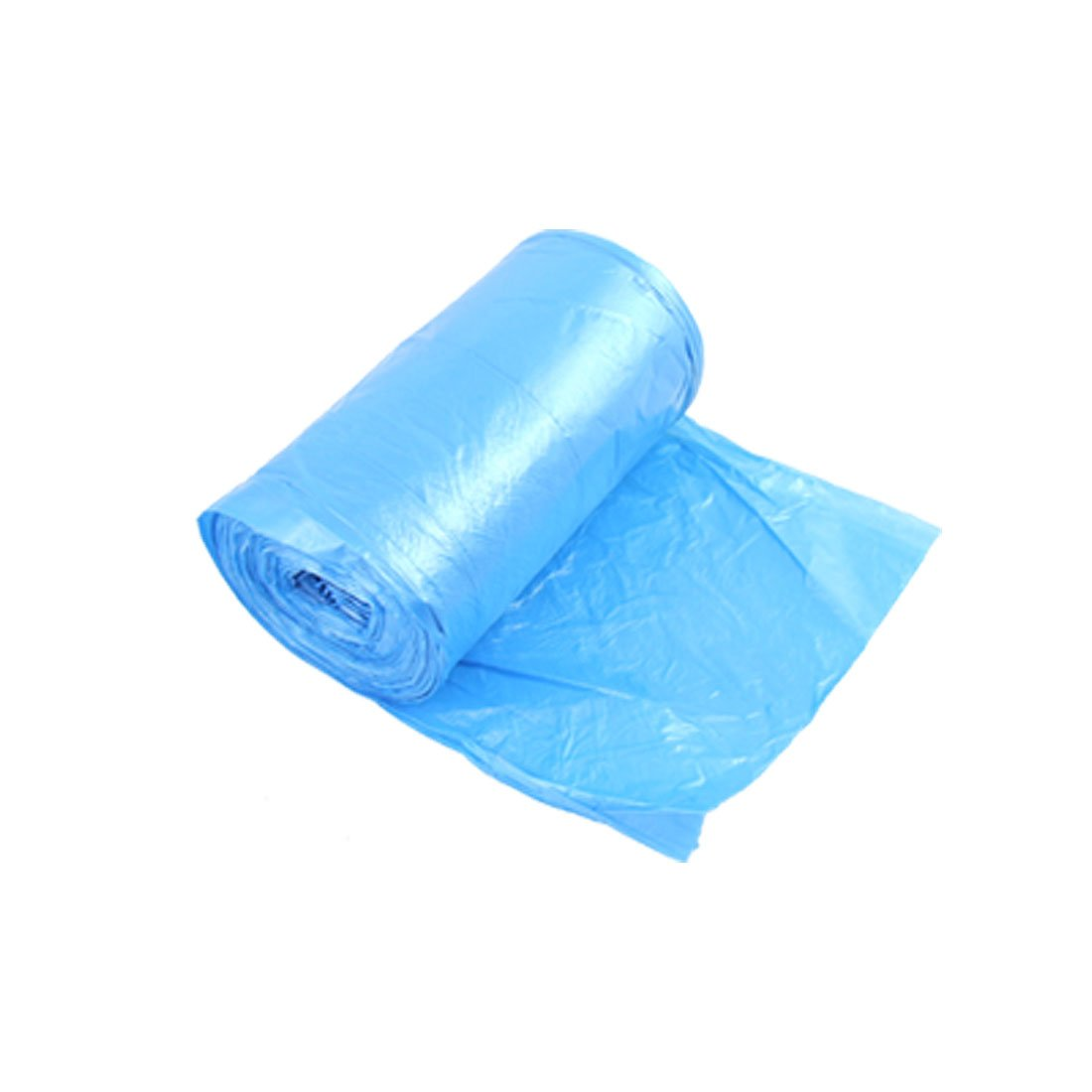 sourcingmap Rectangle Rubbish Garbage Trash Waste Bag Roll Blue a10113000ux0490