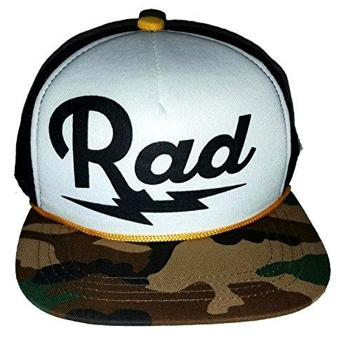 3-24 months Baby Child Rad Lightning Bolt Mesh Trucker Hat Cap Snapback Camo (Surf Bolt)