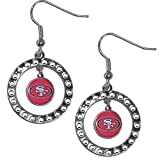NFL San Francisco 49ers Rhinestone Earrings