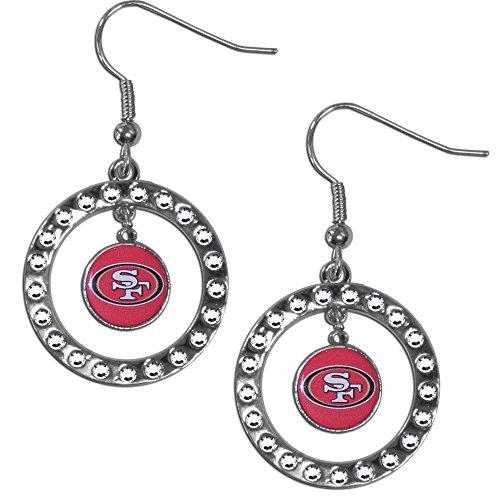 NFL San Francisco 49ers Rhinestone Earrings