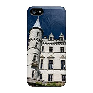 Fashionable Style Case Cover Skin For Iphone 5/5s- Dunrobin Castle Southerl Scotl