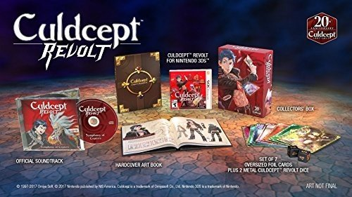 Culdcept Revolt: Limited Edition - Nintendo 3DS (Comp Deck 3)