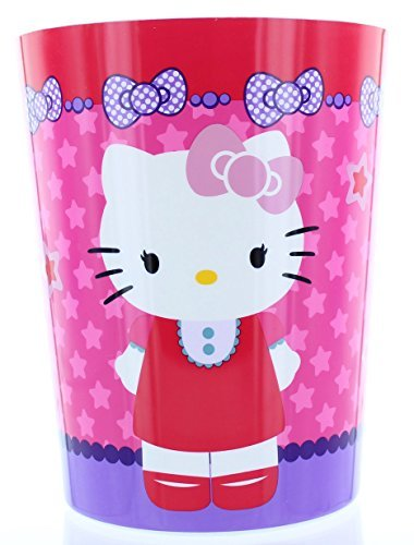 Hello Kitty Room Accessories - Sanrio Hello Kitty Bathroom Trash Can