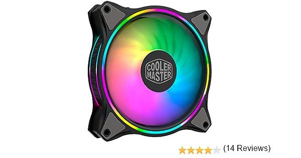 Cooler Master MasterFan MF120 Halo Duo-Ring Addresable RGB ...