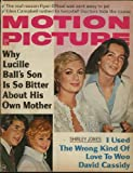 img - for Motion Picture Magazine; June 1971 (Shirley Jones with David Cassidy cover) (Mod Squad feature) (Vol. 60, No. 725) book / textbook / text book