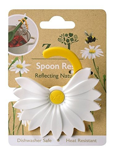 Amazon.com: Zeal Daisy Clip-to-Pan Spoon Rest Utensil Holder by Zeal ...