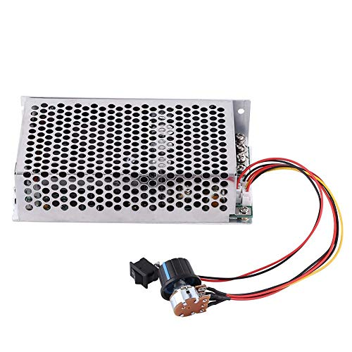 DC Motor Controller,10-50V 100A 5000W PWM Motor Speed Controller with Forward-Brake-Reverse Switch for DC Brush Motor,DC Lamps/LED