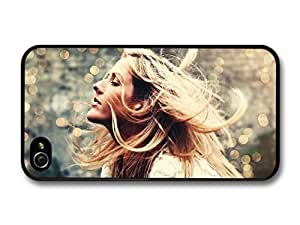 AMAF ? Accessories Ellie Goulding Singer Lake Background case for iPhone 4 4S