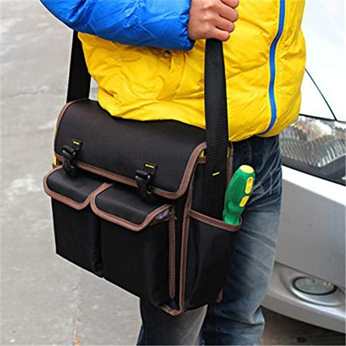 Queenwind 多機能600D ポリエステル材料13inch 電気技師キャンバスツールバッグ