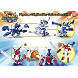 Digimon figurines Digifusion