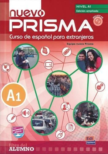 Nuevo Prisma A1 Students Book with Audio CD by Editorial Edinumen S.L.