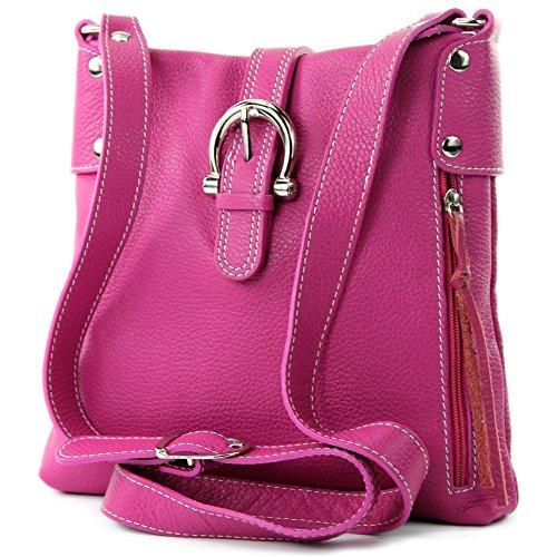 modamoda de - Made in Italy - Bolso cruzados para mujer ver descripción, color Rosa, talla ver descripción