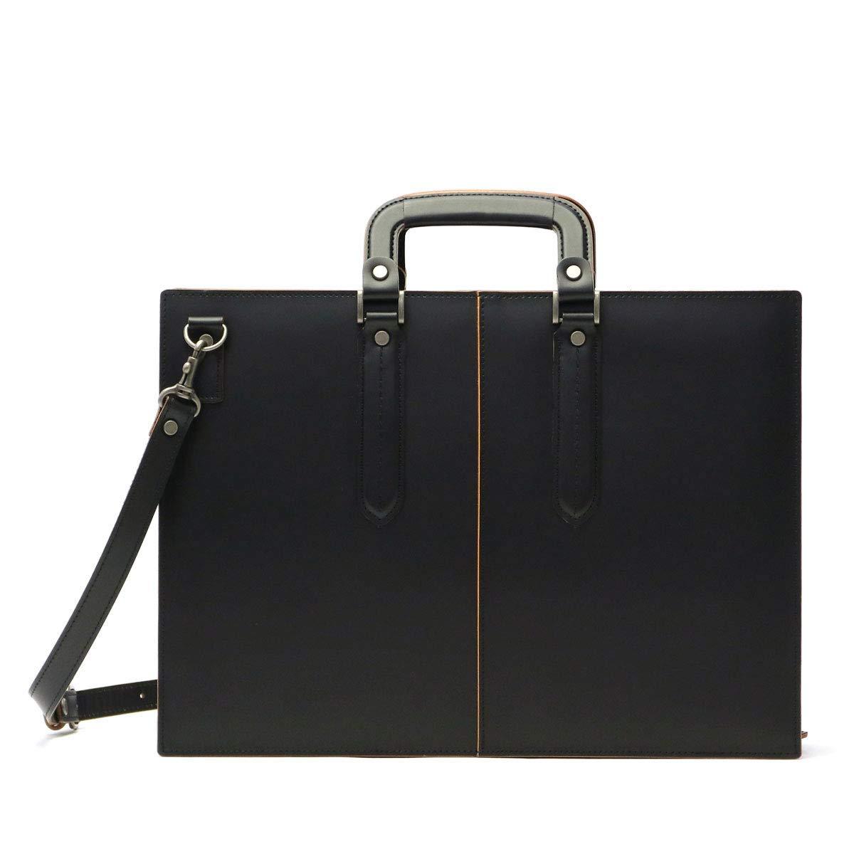 LuggageAOKI 青木鞄 COMPLEX-GARDENS コンプレックスガーデンズ 枯淡 ビジネス ブリーフケース 広マチ Mサイズ 日本製 本革 ブラック 3703-10 B004ATRQHM