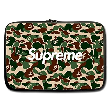 newest collection 16230 7c6cd Supreme Bape Custom Sleeve computer sleeve For Macbook Pro 13 Inch ...
