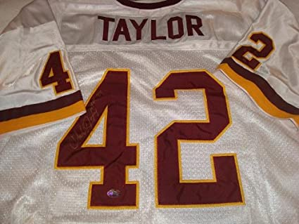 size 40 4644b 7d894 Amazon.com: Charley Taylor Signed Washington Redskins Jersey ...