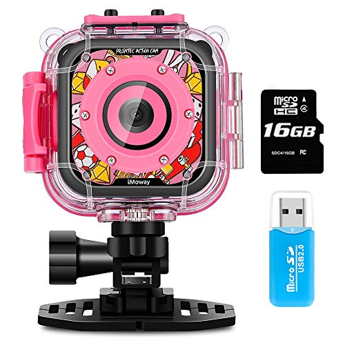 Pink Digital Waterproof Camera - 2