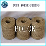 FINCOS 150pcs/lot Natural Jute Twine Cord DIY/Decorative Handmade Accessory Garden Twine