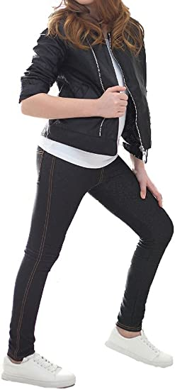 Mädchen Leggings Thermo Leggings Strech Hose//600