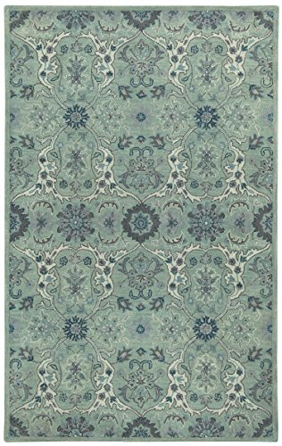 100% Wool Capel Rugs (Capel Rugs Hamlet Rectangle Hand Tufted Area Rug, 7 x 9',)