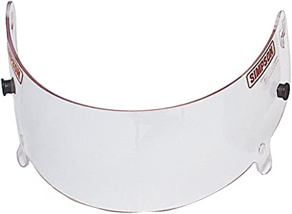 Simpson Racing 84300A Stingray Clear Shield for Devil Ray Helmet
