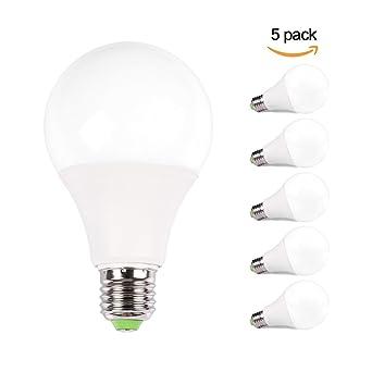 7x LED Birne 9W warmweiß Sparlampe Leuchtmittel Glühbirne Lampe Leuchte E27 A+