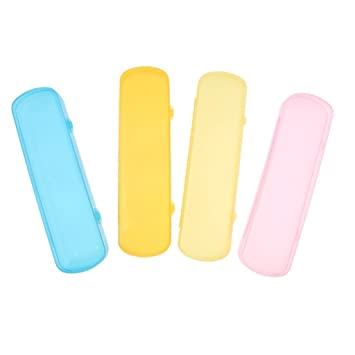 Welim caja de pasta de dientes caja de viaje cepillo de dientes portátil pasta de dientes