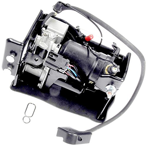 APDTY 050112 Air Suspension Compressor Assembly w/Dryer & Steel Mount Housing For 2007-2013 Escalade, Avalanche, Suburban, Yukon, Tahoe (Replaces 15949881 20837299 25913289 15949881 20837299 25913289) ()