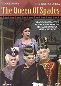 Tchaikovsky: The Queen of Spades: Bolshoi Opera [DVD] [1983] [Reino Unido]