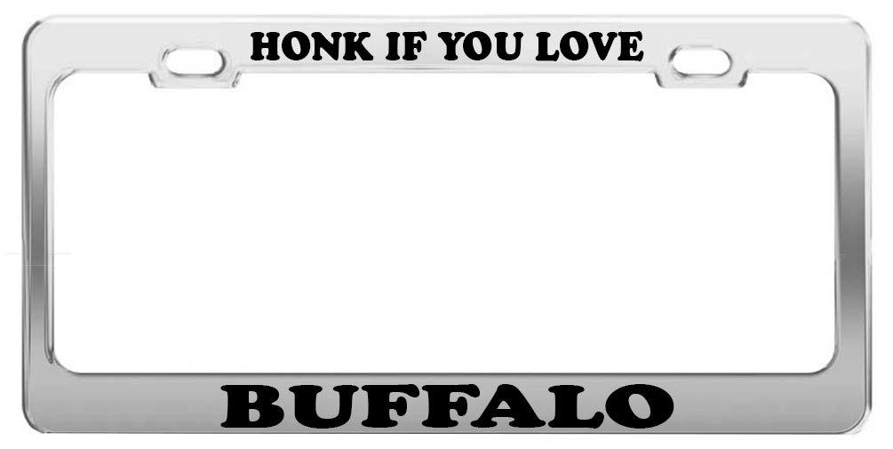 Buffalo license plate frame