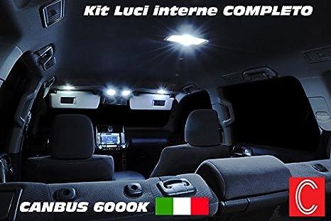 Plafoniere Per Interni Auto : Kit led interni fiat grande punto plafoniera anteriore amazon
