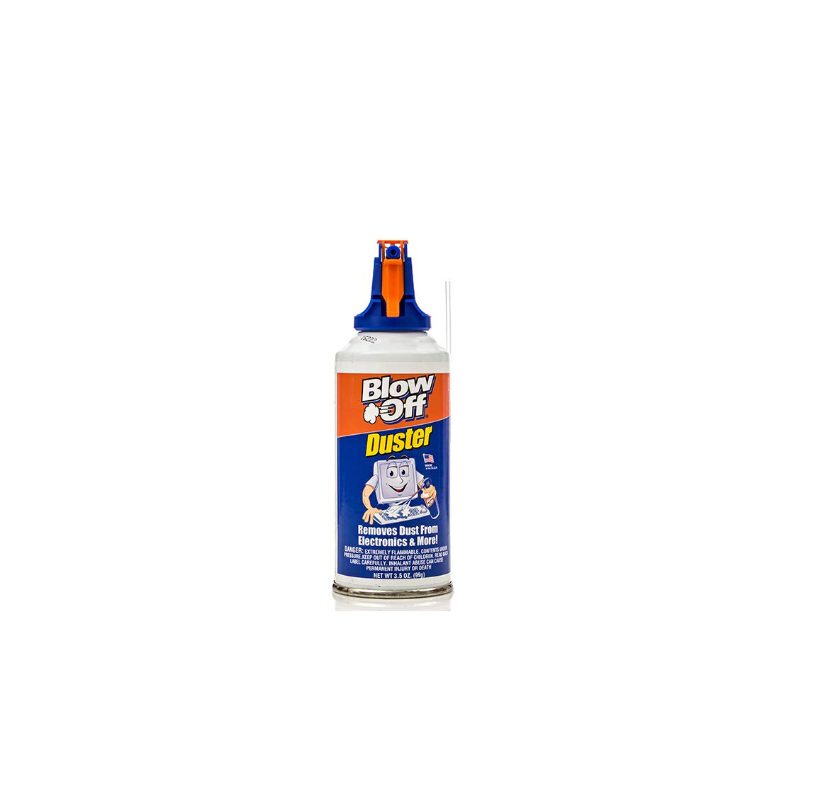 Compressed Air Duster Can MAX Professional Cleaner 1111 Blow Off Non-toxic & No Bitternt 8oz. Stop the Build-up of Dust in Your Electronics, Clogging up the Cooling Fan. Pack of 2 MAX-Professional LYSB01E4JO1K2-CMPTRACCS