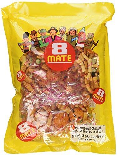 (Shirakiku - 8-Mate Assorted Rice Crackers 16 Oz. by Shirakiku)