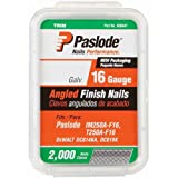 Paslode 650230 1-1/4-Inch by 16 Gauge 20 Degree Angled Galvanized Finish Nail (2,000 per Box)