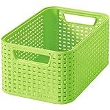 Curver ''Style 2'' Storage Box, Apple Green, 38.6 x 28.7 x 17 cm